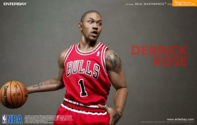[Enterbay] NBA Real Masterpiece: Derrick Rose (Chicago Bulls) Real-Masterpiece-Derrick-Rose-6-650x414