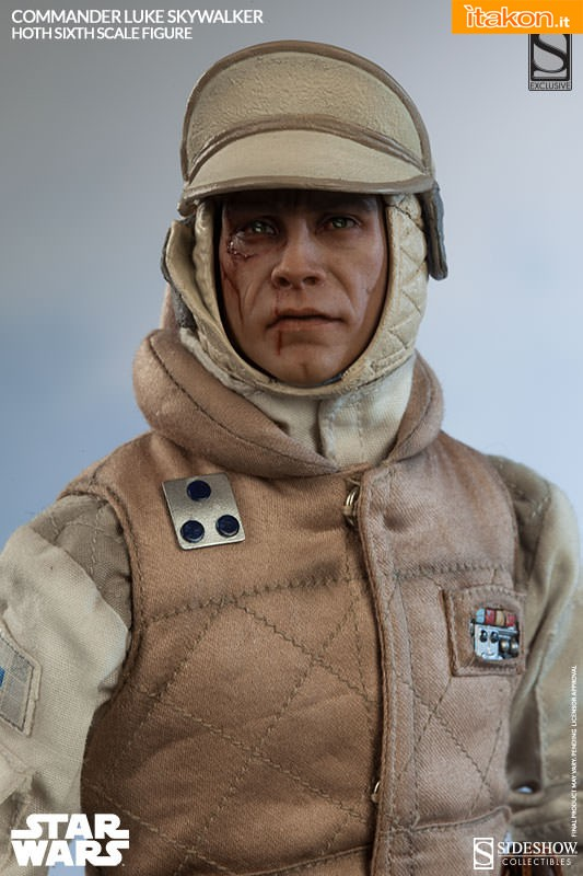 [Sideshow] Star Wars: Commander Luke Skywalker - Hoth Sixth Scale Figures A112