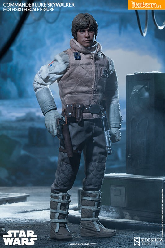 [Sideshow] Star Wars: Commander Luke Skywalker - Hoth Sixth Scale Figures A91