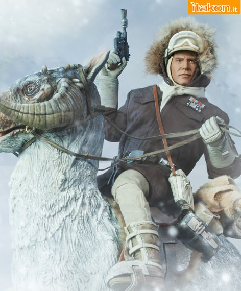 [Sideshow] Star Wars:  Captain Han Solo  - Hoth Sixth Scale Figures Preview-HanSolov03