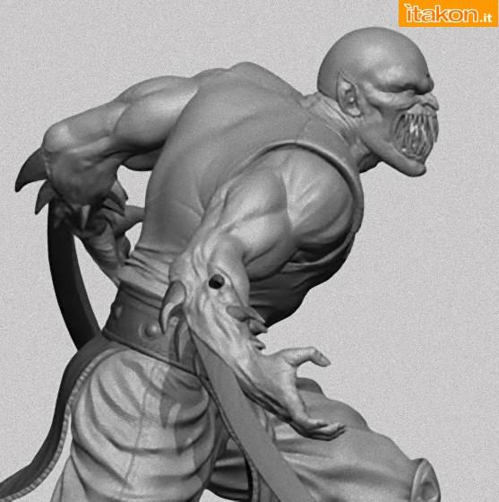 [Pop Culture Shock] Mortal Kombat 9 - Baraka 1/4 scale 1_e