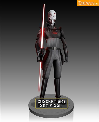 [Gentle Giant] Star Wars Rebels: The Inquisitor Maquette 80414-2