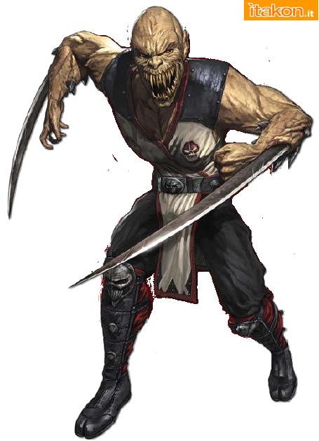 [Pop Culture Shock] Mortal Kombat 9 - Baraka 1/4 scale Baraka-mk9