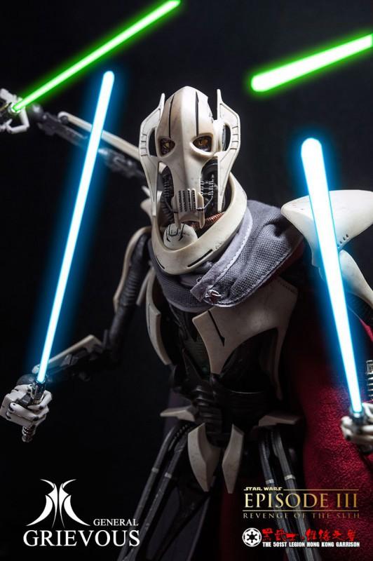 [SideShow] Star Wars: General Grievous 1/6th Scale Figure - Página 4 General-Grievous-20-532x800