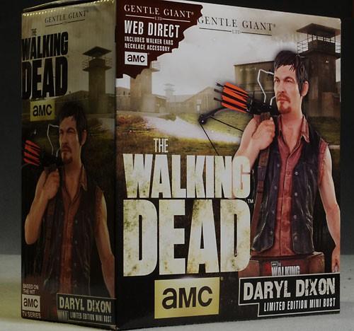 [Gentle Giant] The Walking Dead: Daryl Dixon Mini Bust Gentle-giant-1