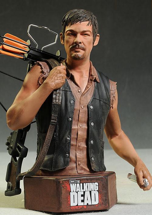 [Gentle Giant] The Walking Dead: Daryl Dixon Mini Bust Gentle-giant-3