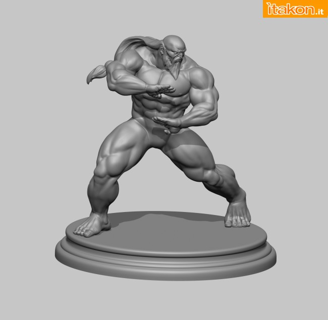 [Pop Culture Shock] Street Fighter: Gouken Statue Sssssssssss