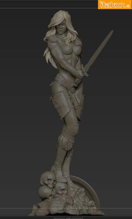 [ARH Studios] Arhian 1/4 statue Arhian-e-New-Queen-of-Vampires-statue-1