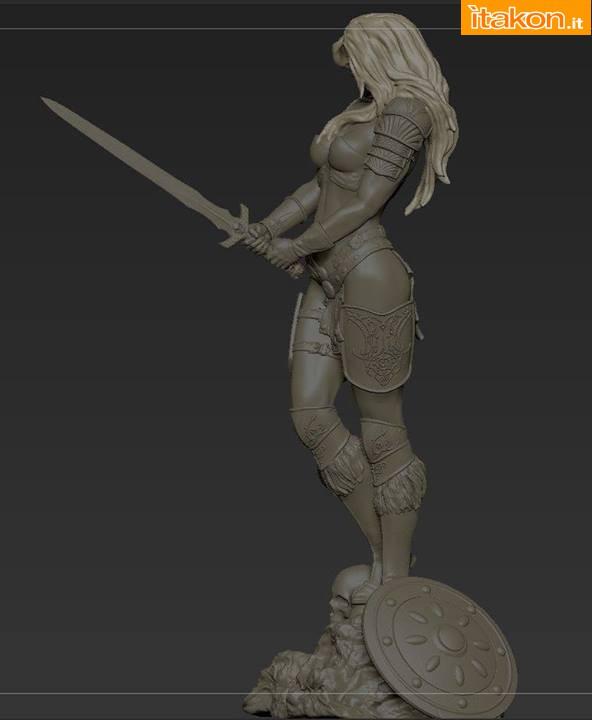 [ARH Studios] Arhian 1/4 statue Arhian-e-New-Queen-of-Vampires-statue-5