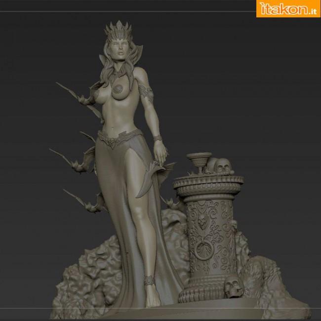 [ARH Studios] New Queen of Vampires 1/4 Scale Statue Arhian-e-New-Queen-of-Vampires-statue-6-650x650