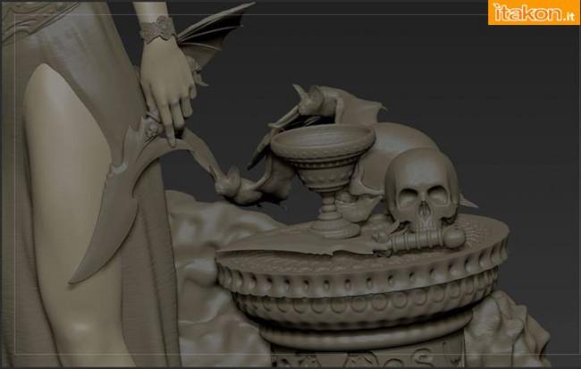 [ARH Studios] New Queen of Vampires 1/4 Scale Statue Arhian-e-New-Queen-of-Vampires-statue-9-650x413