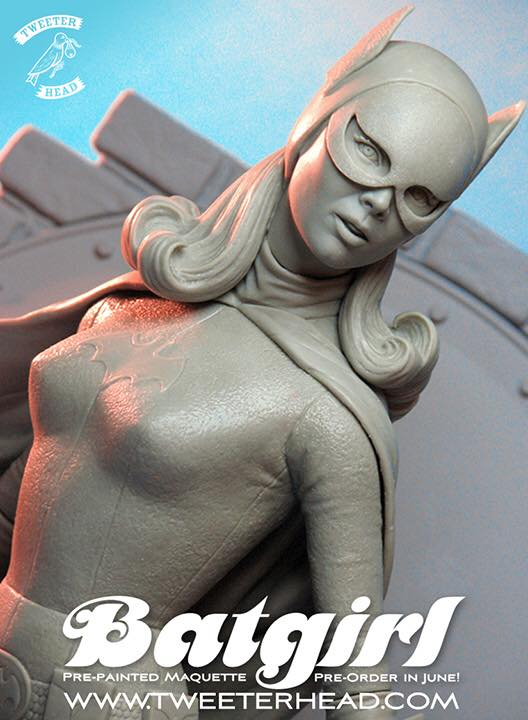 [Tweeterhead] Batgirl 1966 Statue 11038566_898569220204919_6636802208872807382_n
