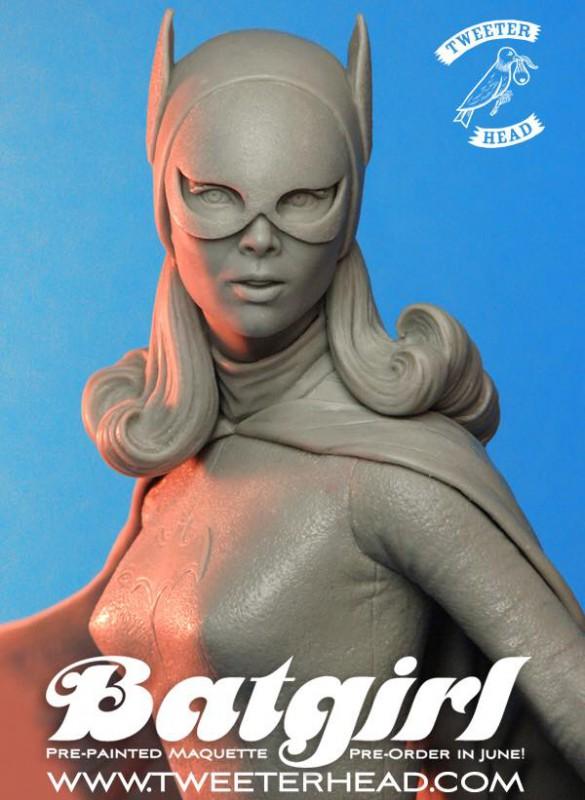 [Tweeterhead] Batgirl 1966 Statue 11173393_898569253538249_4410697689106476297_n-585x800