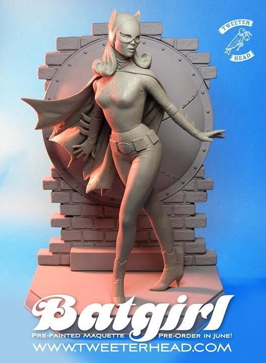 [Tweeterhead] Batgirl 1966 Statue 11209615_898569230204918_1932962437807031153_n