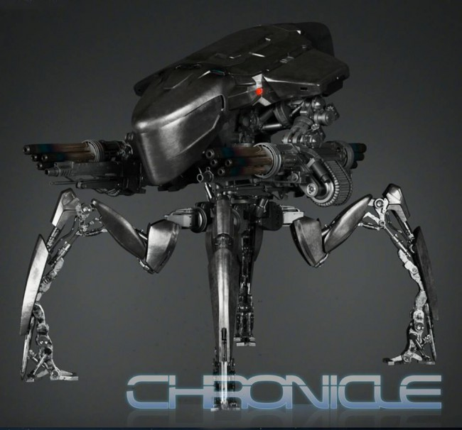 [Chronicle Collectibles] Terminator Genisys - Spider Tank 1/18 Chronicle-Collectibles-Spider-HK-Tank-1-650x606