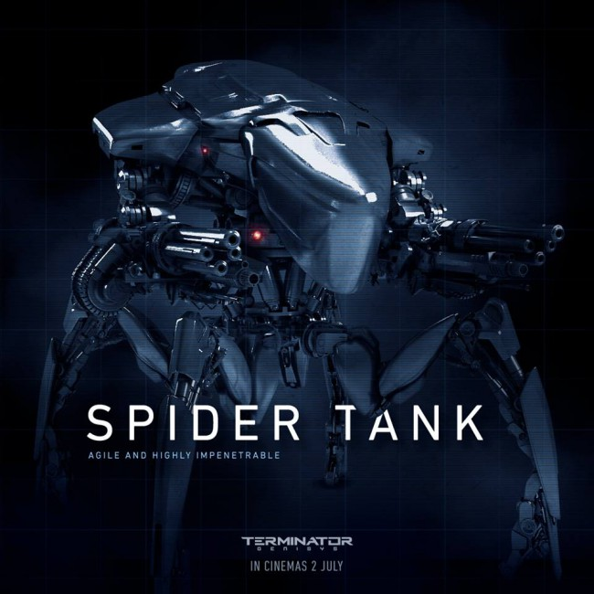 [Chronicle Collectibles] Terminator Genisys - Spider Tank 1/18 Chronicle-Collectibles-Spider-Tank-650x650
