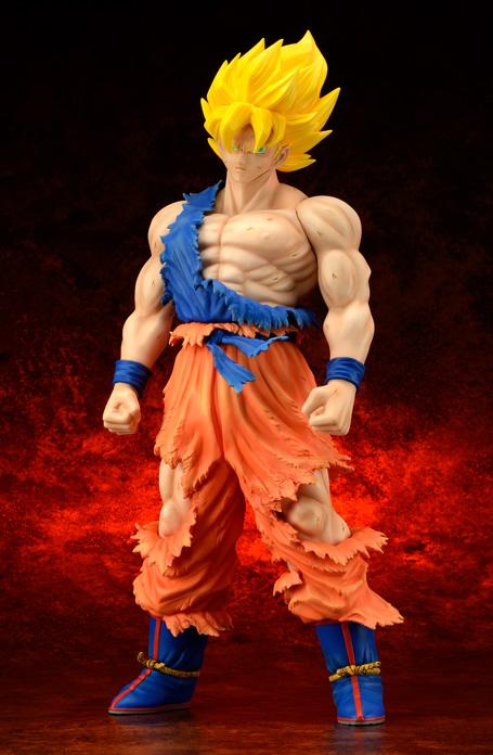 [X-Plus] Dragon Ball Z: Son Goku SSj Damage ver. - Gigantic Series Goku-SSj-xplus-damage-anteprima-5