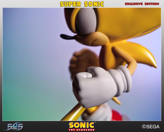 [First 4 Figures] Sonic The Hedgehog - Super Sonic (Modern Sonic ver.) Horizontal_02-650x525