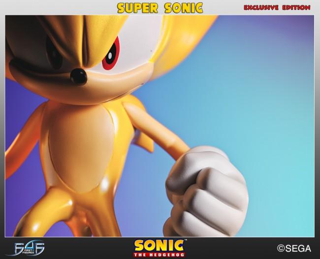 [First 4 Figures] Sonic The Hedgehog - Super Sonic (Modern Sonic ver.) Horizontal_06-650x525