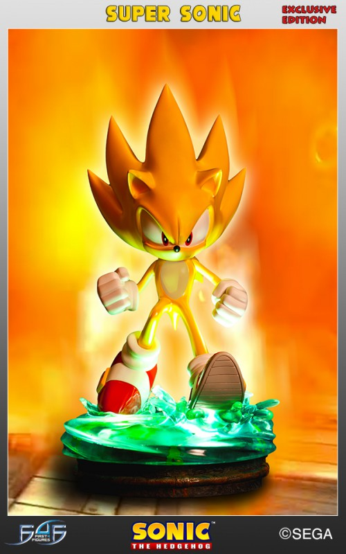 [First 4 Figures] Sonic The Hedgehog - Super Sonic (Modern Sonic ver.) Vertical-500x800