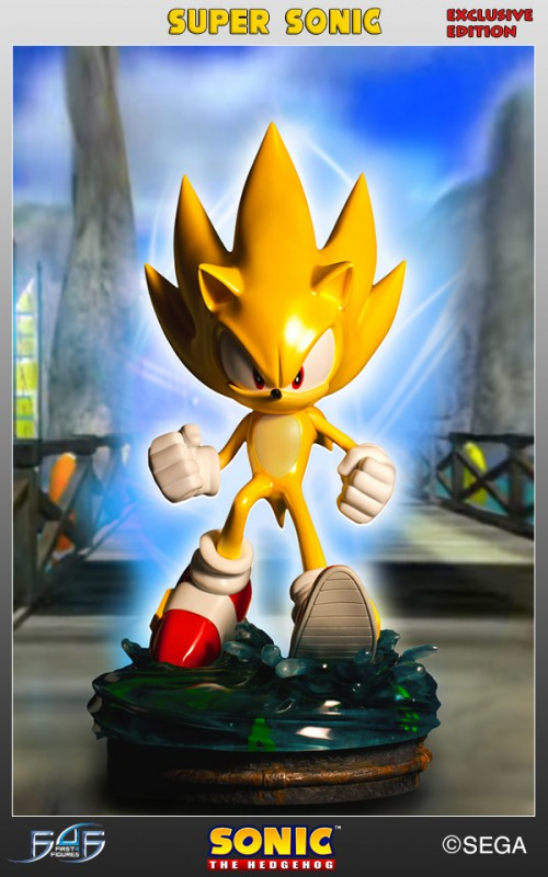 [First 4 Figures] Sonic The Hedgehog - Super Sonic (Modern Sonic ver.) Vertical_03-500x800