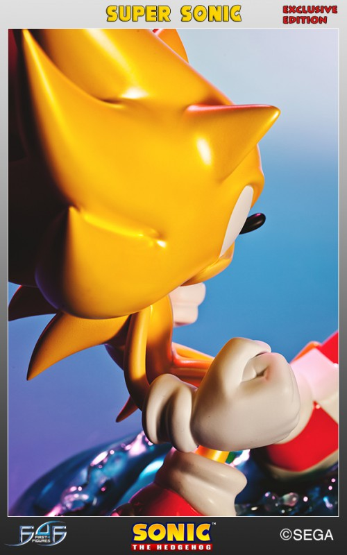 [First 4 Figures] Sonic The Hedgehog - Super Sonic (Modern Sonic ver.) Vertical_09-500x800
