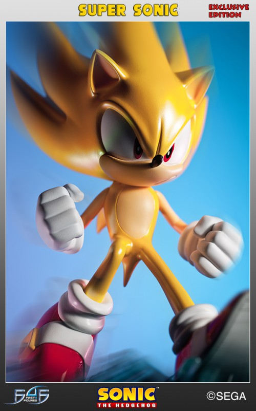 [First 4 Figures] Sonic The Hedgehog - Super Sonic (Modern Sonic ver.) Vertical_22-500x800