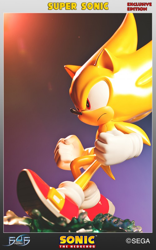 [First 4 Figures] Sonic The Hedgehog - Super Sonic (Modern Sonic ver.) Vertical_23-500x800