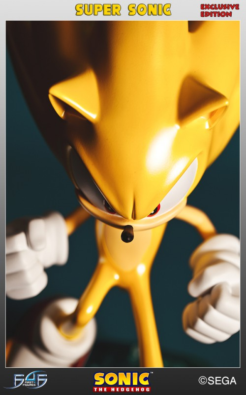 [First 4 Figures] Sonic The Hedgehog - Super Sonic (Modern Sonic ver.) Vertical_27-500x800
