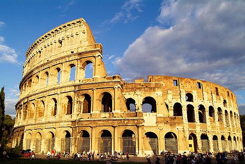Restos del coliseo de entrenamientos Coliseo3