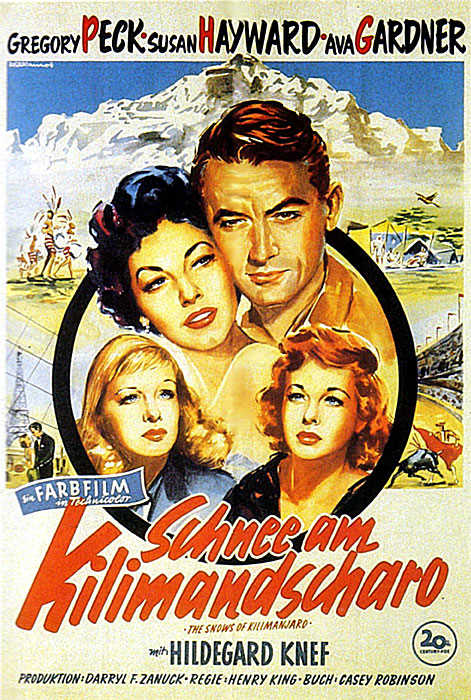 Gregory Peck 600full-the-snows-of-kilimanjaro-poster