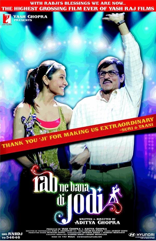 RAB NE BANA DI JODI (2.008) con SRK + Jukebox + Vídeos Musicales + Sub. Español 600full-rab-ne-bana-di-jodi-poster