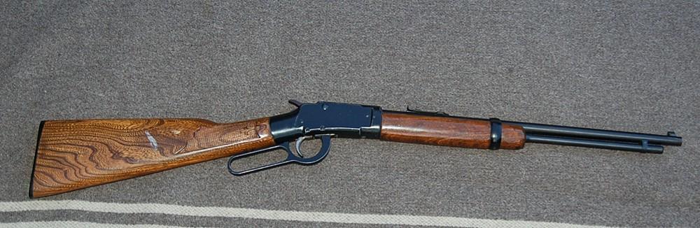 Fusil à barillet inconnu.  Ithaca_8