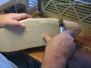 Объемная резьба по дереву для начинающих. Техника и видео резьбы 5-300x225