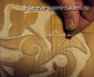 Рельефная резьба по дереву бормашинкой. Мастер-класс, видео DSC07660-300x248