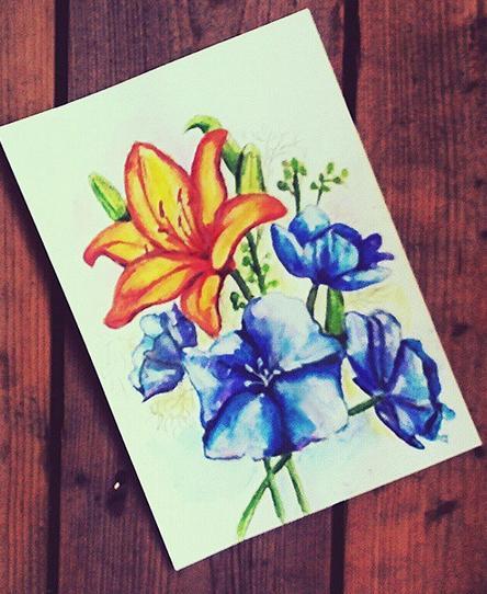 Цветочное настроение  0764684001439303153