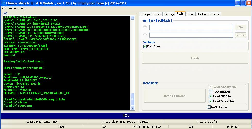firmware LP INFINITY - صفحة 3 0062465001468592159