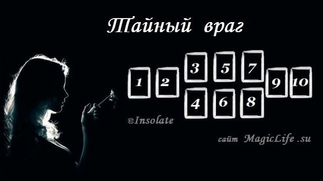 """Расклад """"Тайный враг"""" 0608982001486144084"""
