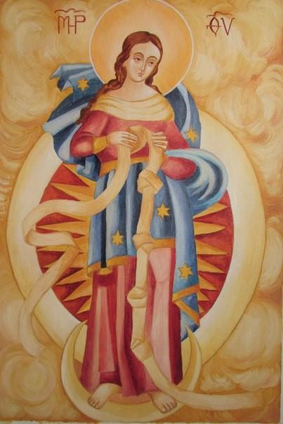 Богородица развязывающая узлы  0016984001486238025