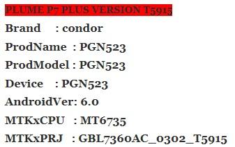 :فلاشـات: firmware condore p7 plus PGN 523 0552753001531913206