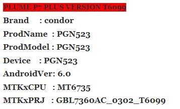 :فلاشـات: firmware condore p7 plus PGN 523 0566355001531913206