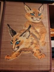Кошки из бамбука и акрила 0552036001385703724
