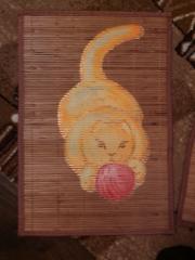 Кошки из бамбука и акрила 0824421001385703723