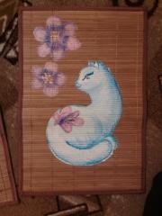 Кошки из бамбука и акрила 0991996001385703723