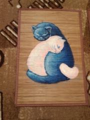 Кошки из бамбука и акрила 0411893001386091579