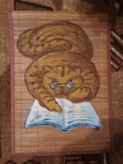 Кошки из бамбука и акрила 0714566001386091579