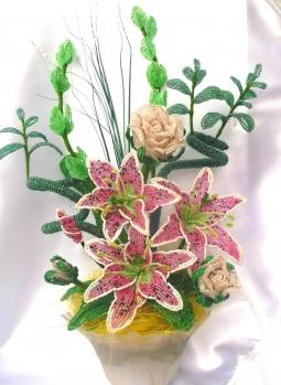 цветы из бисера - Страница 2 0115468001386502359