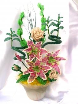 цветы из бисера - Страница 2 0485273001386502359