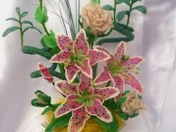 цветы из бисера - Страница 2 0899084001386502359