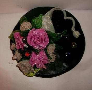 цветы из бисера - Страница 2 0156966001388155090